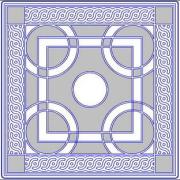 Тротуарная плитка орнамент